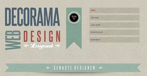 w350 - Web Design Inspiration: Bold Typography