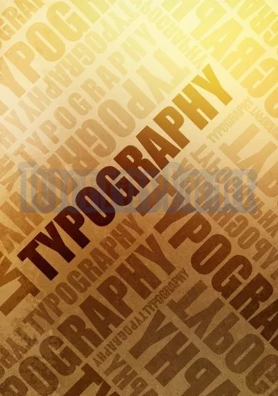 Typographic poster tut 29 - How to Create a Trendy Typographic Poster Easily in Photoshop