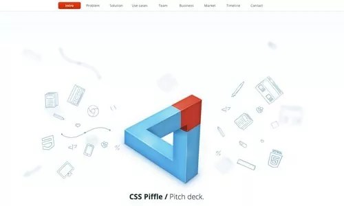 csspiffle - 25 Clean and Light Web Designs for Inspiration