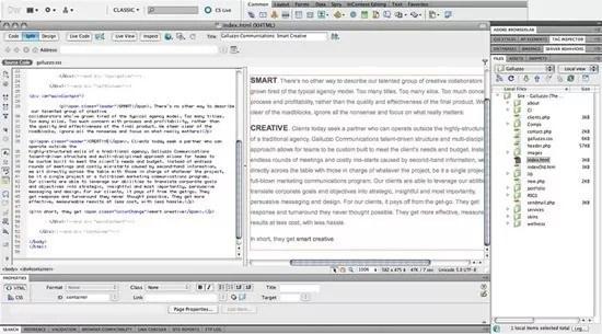 dreamweaver - 5 HTML Editors