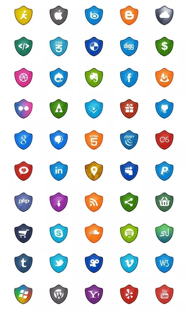 vectorsocial large vectorgab - 50 Free Vector Social Media Icons