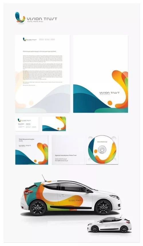 vision trust   ci by mateuszmadurad3az42d - 65 Smashing Letterhead Designs