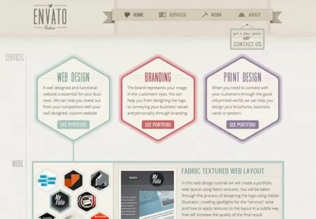 w404 - 25+ Brand-New Photoshop Web Interface Tutorials