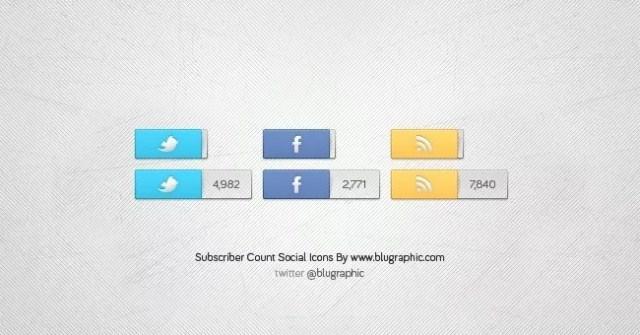 Social Icons V2 - 18 Free Social Media Icon Packs