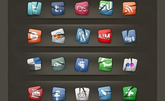 SocialMediaIcon3 - Free Social Media Icons 18 Sets