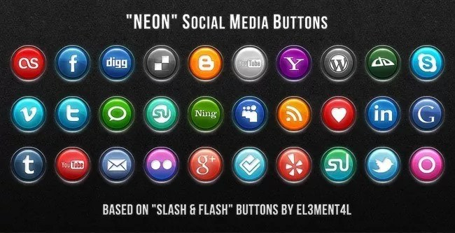 SocialMediaIcon5 - Free Social Media Icons 18 Sets