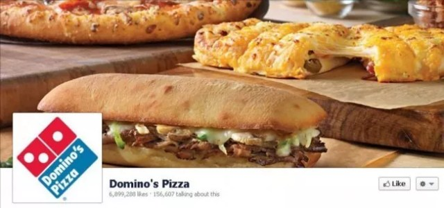 dominos e1340869974789 - 11 Best Fast Food Timelines on Facebook – A Feisty Experience!!
