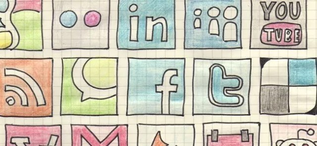 Social Icons 5 - 18 Free Social Media Icon Packs