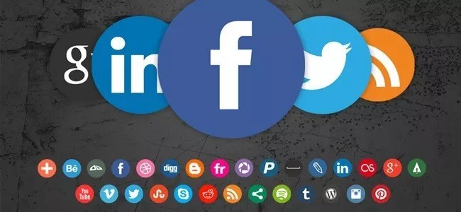 Social Icons20 - Free Social Media Icons 18 Sets