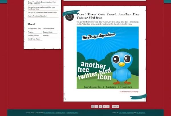 cool wordpress themes15 - Premium Like Free WordPress Blog Themes