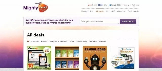 MightyDeals - 7 apps to help you get through your busy day.