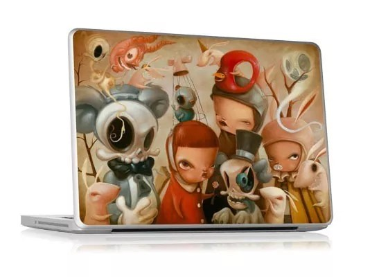 Reunion - 25+ Awesome And Inspirational Laptop Skins