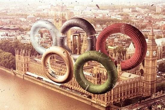 olympic inspired 2012 artwork 1 - London 2012 Olympic Inspired Artwork
