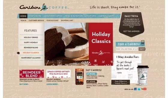 Coffee Website Designs27 - 25+ Coffee Website Designs for Inspiration