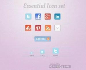 essential iconset preview - essential_iconset_preview
