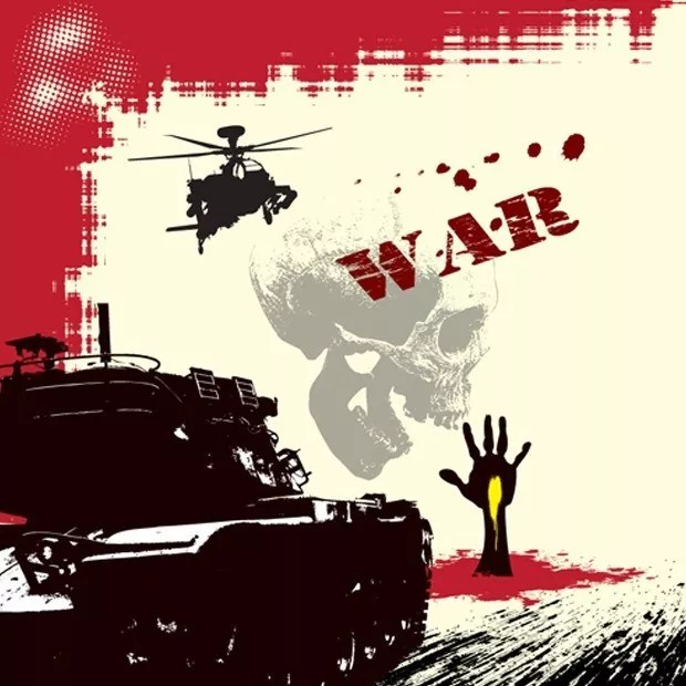 war large vectorgab - Free Vector War design elements