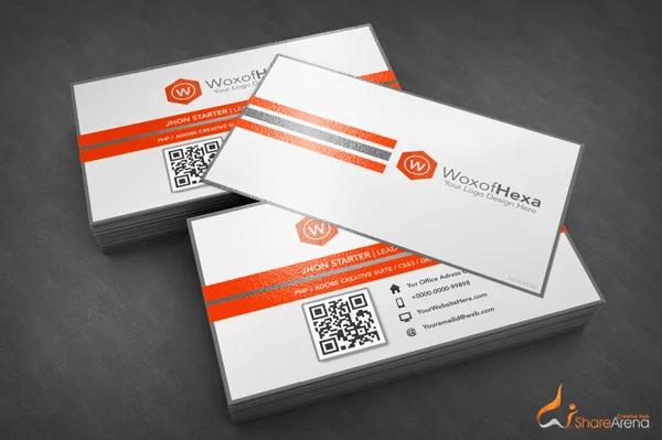 B.card Mockup - Free Download: Premium Business Card Template