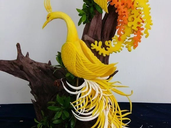 BVCE 02 - 12 Beautiful Vegetable Carving Examples