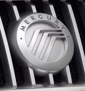 Mercury Logo 281x300 - Mercury Logo Design and History