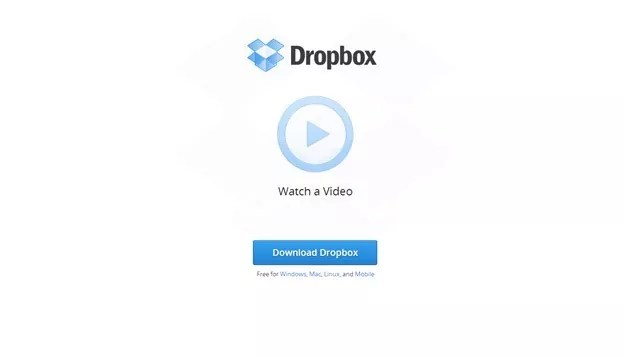 dropbox - Why Landing Page Videos Are So Important