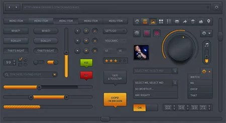 w205 - 150 FREE High-Quality GUI Sets of 2012