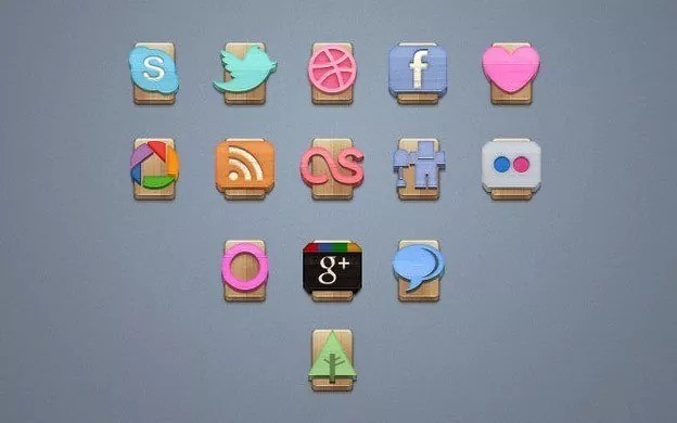 Social Media Icons 18 - 30+ Free Social Media Icon Sets