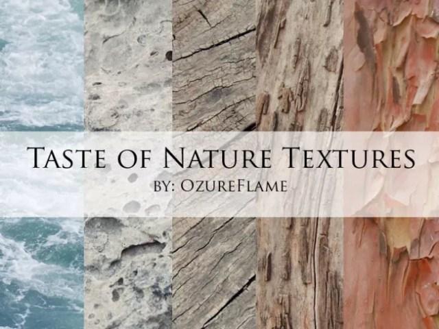 Taste of Nature Textures
