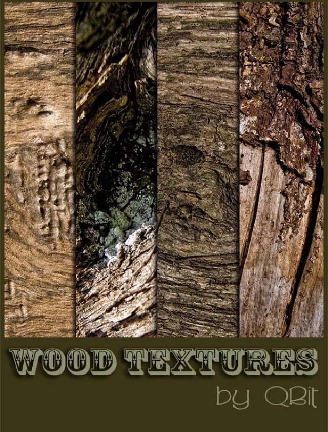 WOOD TEXTURES by QBit71 - 200+ Free High Quality Grungy Dirty Wood Textures