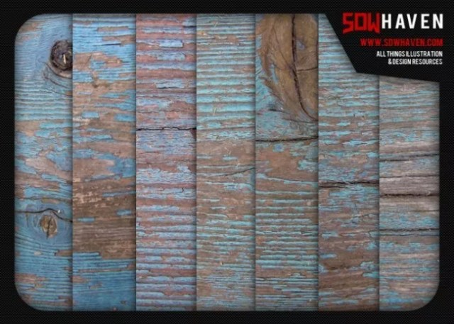 weathered blue wood textures by sdwhaven d51rify e1359621320892 - 200+ Free High Quality Grungy Dirty Wood Textures