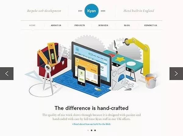 web design inspiration29 - 50+ Inspiring and Creative Minimalist Web design Inspirations