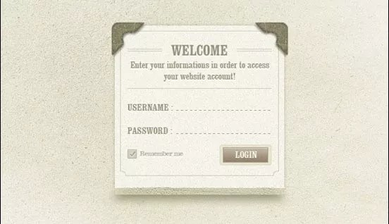 psd forms1 1 - Best Free Login and Sign Up Forms PSD
