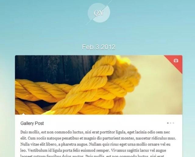 tumblr like wordpress quicknote - 30 WordPress Themes That Look Like Tumblr