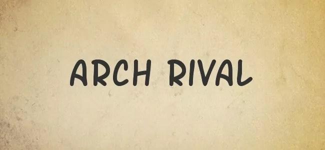 Arch Rival - Free Handwritten Fonts