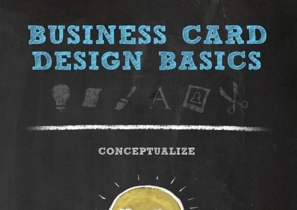 Business Card Design Basics Infographic - Business Card Design Basics [Infographic]