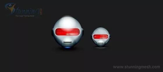 robo head design in photoshop Result - Robot Head Design in Photoshop