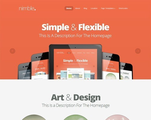 nimble mini - What's Your WordPress Theme Personality?