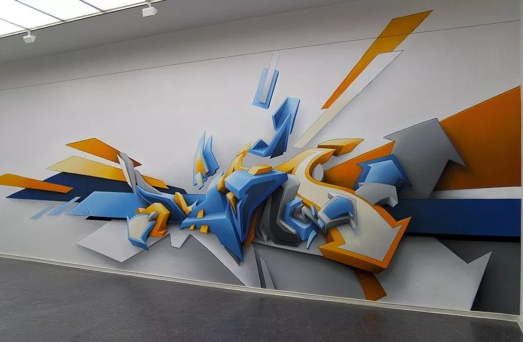 02 daim big - Inspiring and Creative Graffiti Artworks