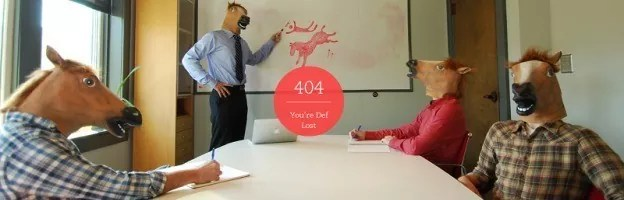 22 Creative 404 Error Page Designs