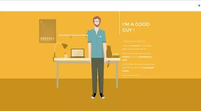 sam markiewicz interactive resume design1 e1407047338874 - Creative Interactive Resume Designs
