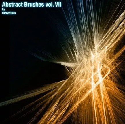 361 abstract brush pack vol 7 - 83 Awesomely Abstract Photoshop Brushes for 2014