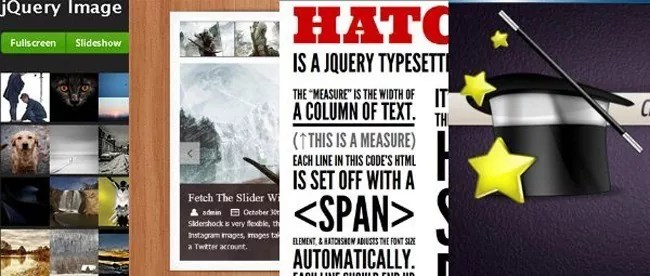 60 jquery plugins - 115+ Must Have jQuery Plugins