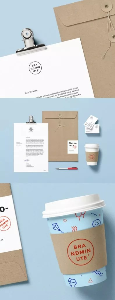 011 free psd mockup 395x1024 - 60+ Branding, Identity & Stationery Free PSD Mockups
