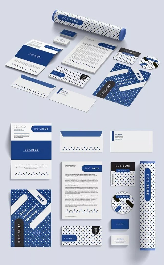 19PSDMockupDesign - 60+ Branding, Identity & Stationery Free PSD Mockups