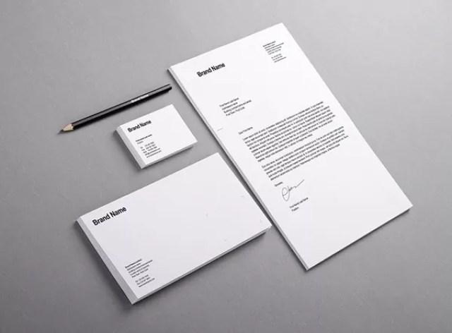Branding Identity Mock Ups and Templates - 60+ Branding, Identity & Stationery Free PSD Mockups