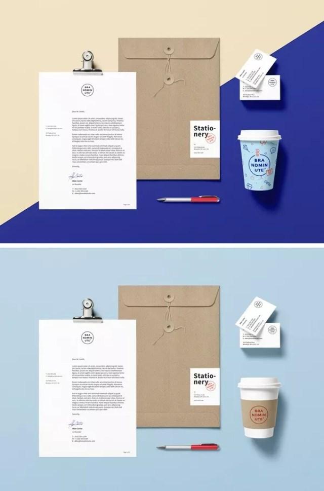 Branding Identity MockUp Vol.15 - 60+ Branding, Identity & Stationery Free PSD Mockups