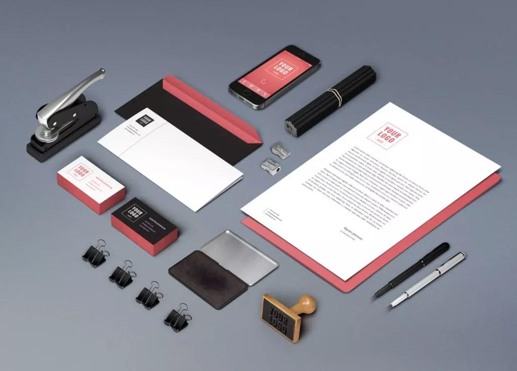60+ Branding, Identity & Stationery Free PSD Mockups