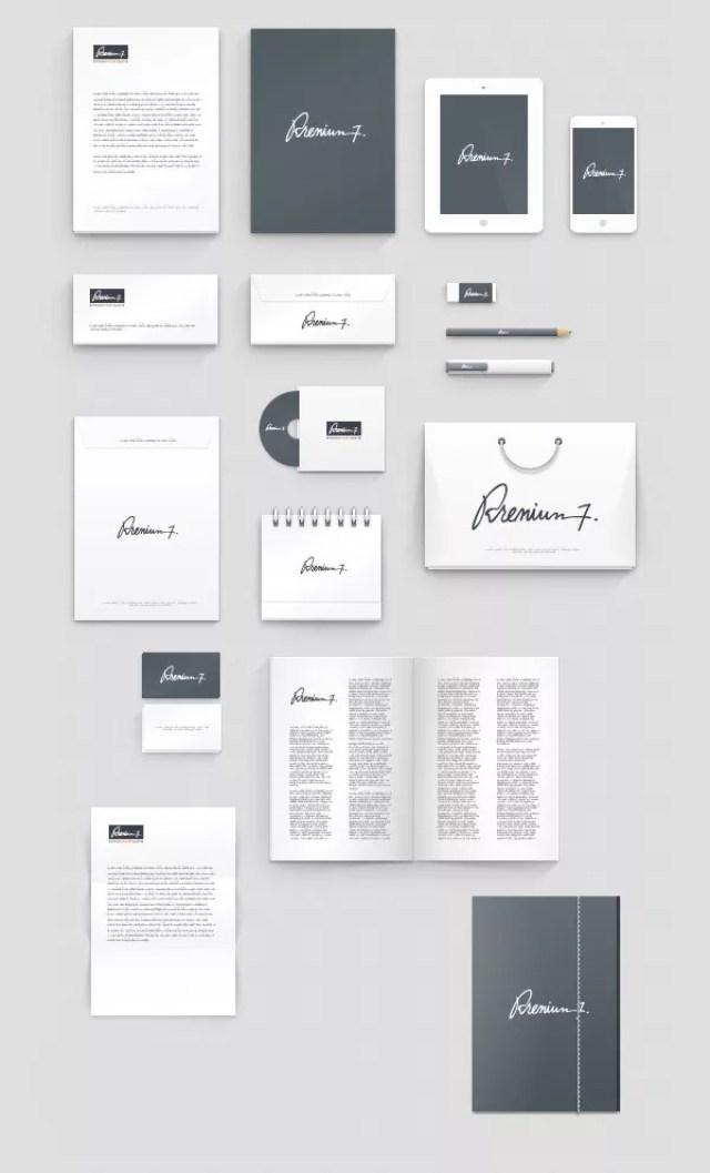 Corporate Identity Mockup - 60+ Branding, Identity & Stationery Free PSD Mockups
