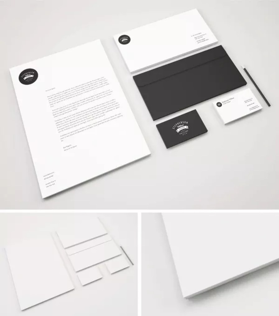 identity branding stationery psd mockup - 60+ Branding, Identity & Stationery Free PSD Mockups