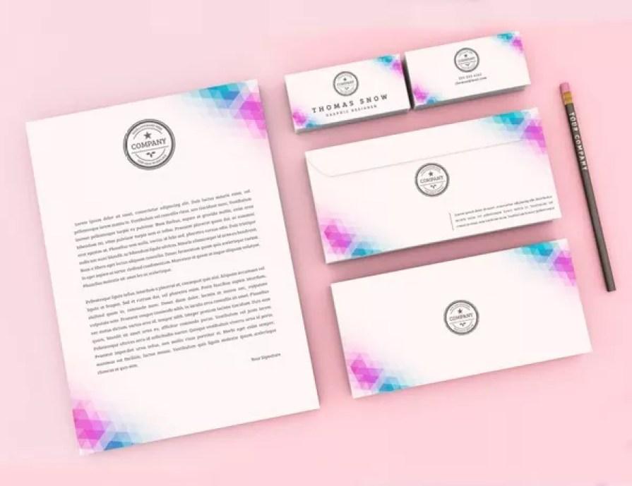stationary kit mockup - 60+ Branding, Identity & Stationery Free PSD Mockups