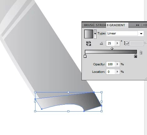 T81 06 - Creating your Very Own Knife Vector Icon in Illustrator
